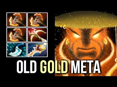 OLD GOLD META! Insane Ember 3 Battle Fury by Forev Destroying Pub SEA Gameplay 7.04 Dota 2