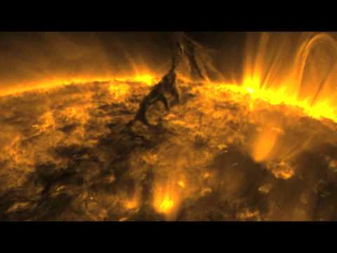 sun tornado captured by nasa - photo #14