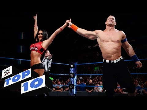 Top 10 SmackDown LIVE moments: WWE Top 10, Mar. 21, 2017 (видео)