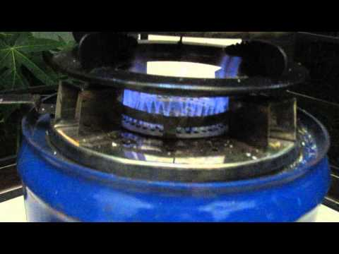 Super Blue Flame Rice Husk Gasifier Stove