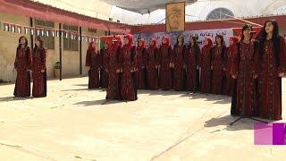 مدرسة العمرية تخرج طالباتها تحت شعار فوج الحرية للأسرى