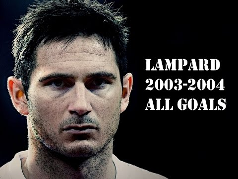 All 15 Lampard goals Chelsea season 2003 2004 Full HD