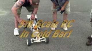 5th Scale RC Buggy In Gold Bar Tearing It Up In The Dirt Goldbarbarians Video