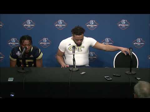 Postgame Press Conference - GT Student-Athletes (2018 Quick Lane Bowl)