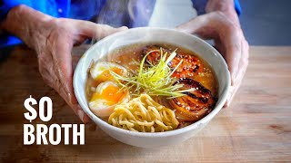 I Make Ramen From Scratch Using TRASH (ft. Ramen Lord) by Alex French Guy Cooking
