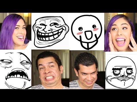 Meme face Challenge - Imitation