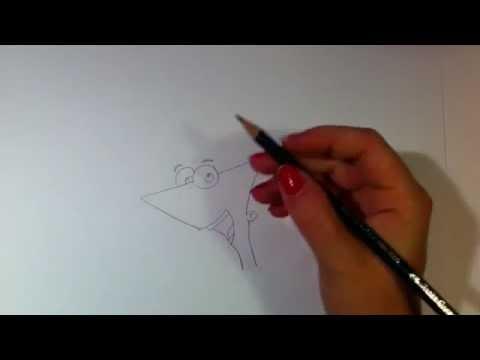 Phineas von Phineas und Ferb zeichnen lernen / Phineas malen