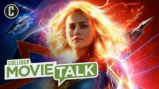 New Captain Marvel Trailer Announced with Eye-Popping Poster - Movie Talk by Collider