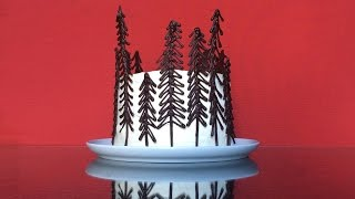 Beautiful Black Forest Cake