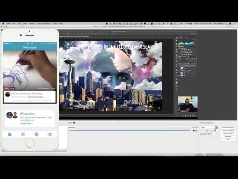 06 How to Stream Live on Twitter/Periscope From Your Computer   Adobe Creative Cloud
