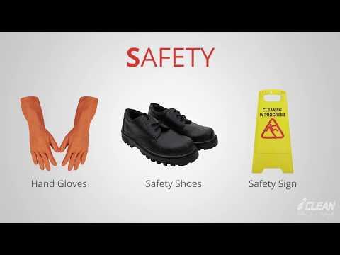 CLEAN STEPS Housekeeping – Spray Buffing
