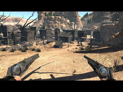 Amazing Game about Cowboys and WILD WEST ! Western on PC Call of Juarez Bound in Blood