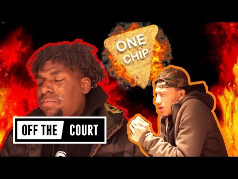 We Gave JELLYFAM The One Chip Challenge! Jahvon Quinerly & Naz Reid SHED TEARS 🌶️