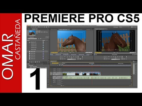 ADOBE PREMIERE PRO CS5 TUTORIAL PARTE 1