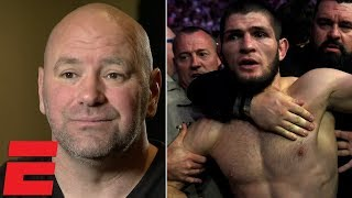 Video Dana White on Conor vs Khabib brawl, Floyd Mayweather, Brock Lesnar, Nate Diaz, GSP | MMA Interview MP3, 3GP, MP4, WEBM, AVI, FLV Oktober 2018