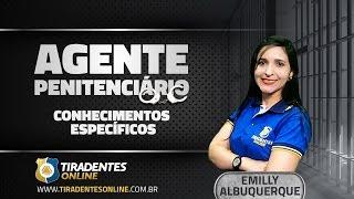 Aula de Conhecimentos Específicos para Agente Penitenciário do Ceará com a profº Emilly Albuquerque. Gostou da aula? Confira mais em ...