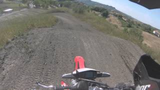 9. rxv 450 cross first time