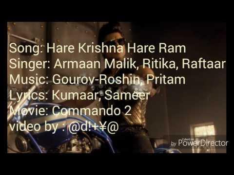 Hare Krishna Hare Ram | Commando 2 | Vidyut jamwal | Esha Gupta | Adah Sharma | Freedy daruwala |