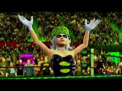 Batgirl vs. Marie, No. 1 Contender's Match