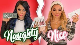 Video NAUGHTY vs. NICE Twin Makeup Tutorials ❄ Niki and Gabi MP3, 3GP, MP4, WEBM, AVI, FLV Oktober 2018