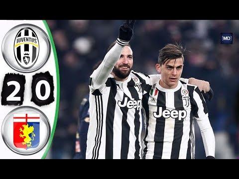 Juventus vs Genoa 2-0 All Goals & Extended Highlights Coppa Italia 20/12/2017 HD