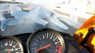 1. Kawasaki Ninja 500R 1/4 Mile Drag Racing