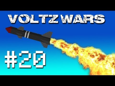 Minecraft Voltz Wars - Amazing Base Defences! #20
