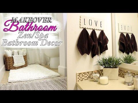 SPA Bathroom Decor IDEAS - ZEN BATHROOM