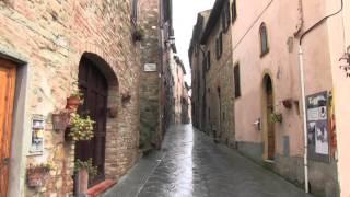 Pelgrimstocht naar Rome etappe 17  San Miniato  -  San Gimignano