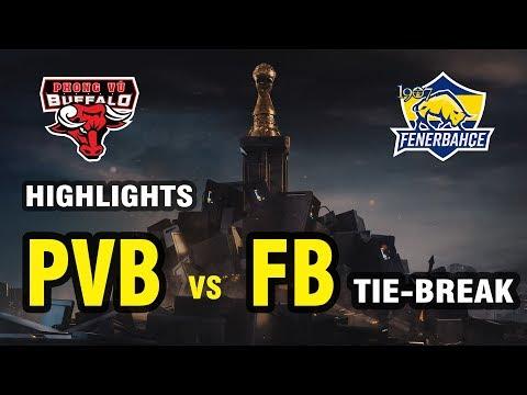 [HIGHLIGHTS] PVB vs FB (tie-break): PHONG VŨ BUFFALO CHÍNH THỨC ĐỤNG ĐỘ TEAM LIQUID! - Thời lượng: 7:50.