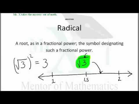 Glossary-Radical