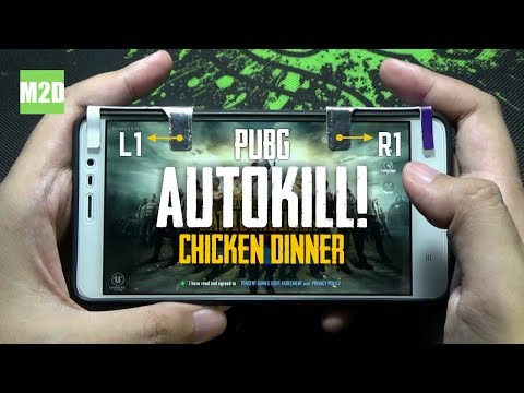 Main PUBG Mobile Dengan Tombol L1 R1 DIY: AUTO Winner Winner Chicken Dinner?!