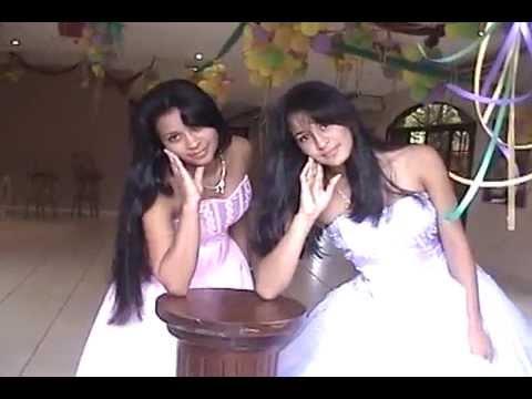 Quinceañeras Honduras , KARLA Y MARIELA 15 AÑOS