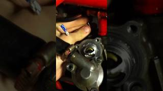 10. trx450r temp sensor and thermostat removal and install