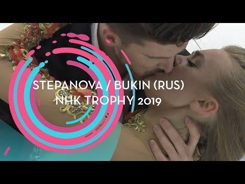 Stepanova / Bukin (RUS) | Ice Dance Rhythm Dance | NHK Trophy 2019 | #GPFigure