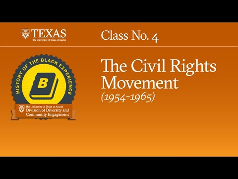 History of The Black Experience, Class #4