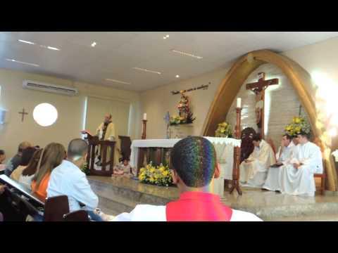 Investidura Coroinhas 2015 e Homilia Corpus Christi Paróquia N. S. da Conceição de Rio Bonito