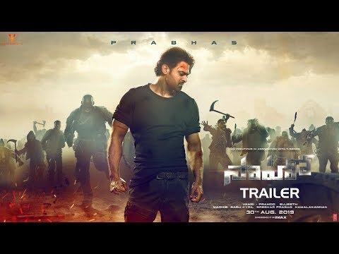 Saaho Trailer : Telugu | Prabhas | Shraddha Kapoor | Sujeeth | #SaahoTrailer | UV Creations
