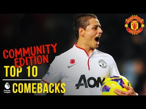 Download Manchester United's Top 10 Premier League Comebacks | Community Edition | Manchester United