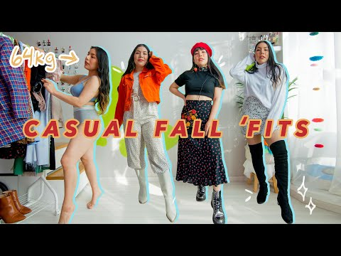 Casual Fall Outfits 2020 |  Basic & Casual looks with a twist ✨🍂✨  | 64kg 160cm
