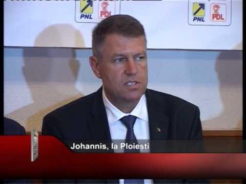 Johannis, la Ploiești