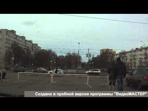 ДТП в Красноярске 02 04 2014 с участием машины правоохранительных органов