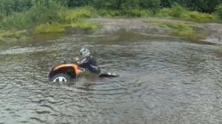 1. Out on the Arctic Cats 700 mudpro and 550 h1