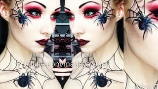 The Spider Queen Makeup Tutorial (Madeyewlook Original) - YouTube