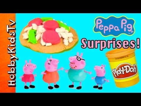 PLAY-DOH Surprise Toys! Pizza and Spaghetti Peppa Pig Rio Star Wars Toy Story My Little Pony