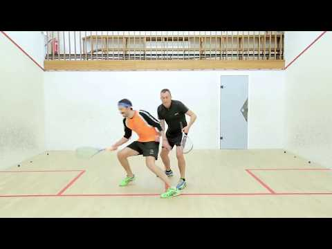 Squash tips: How to ghost effectively with Paul Carter
