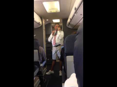 Funny Southwest Flight Attendant San Francisco to Chicago