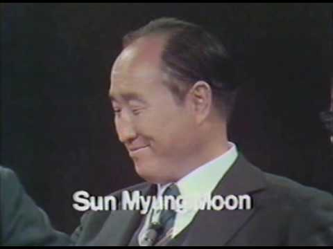 Part 1 - Reverend Moon live interview from the 1972 in the USA with Al Capp