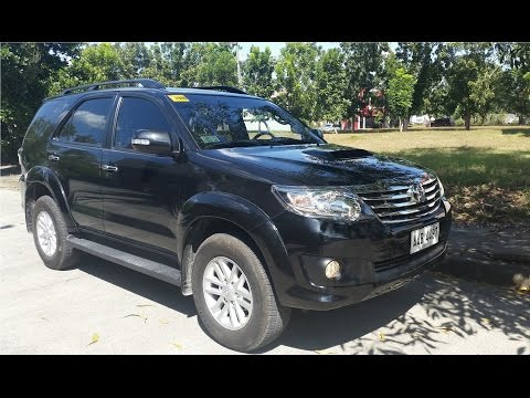2014 Toyota Fortuner 2.5G VNT MT DSL  Review (Start Up, Interior, Exterior, Engine)