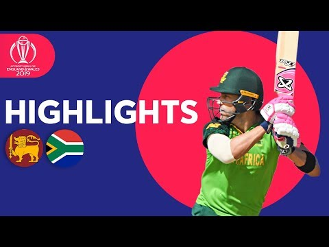 SA Stroll To 9-Wicket Win | Sri Lanka vs South Africa - Highlights | ICC Cricket World Cup 2019